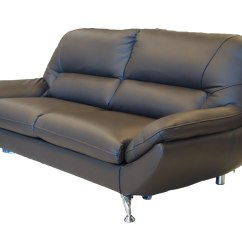 One Person Sofa Bed Repairs Kandivali East Silica 3 Seat Luxury Leather Modern Glossyhome