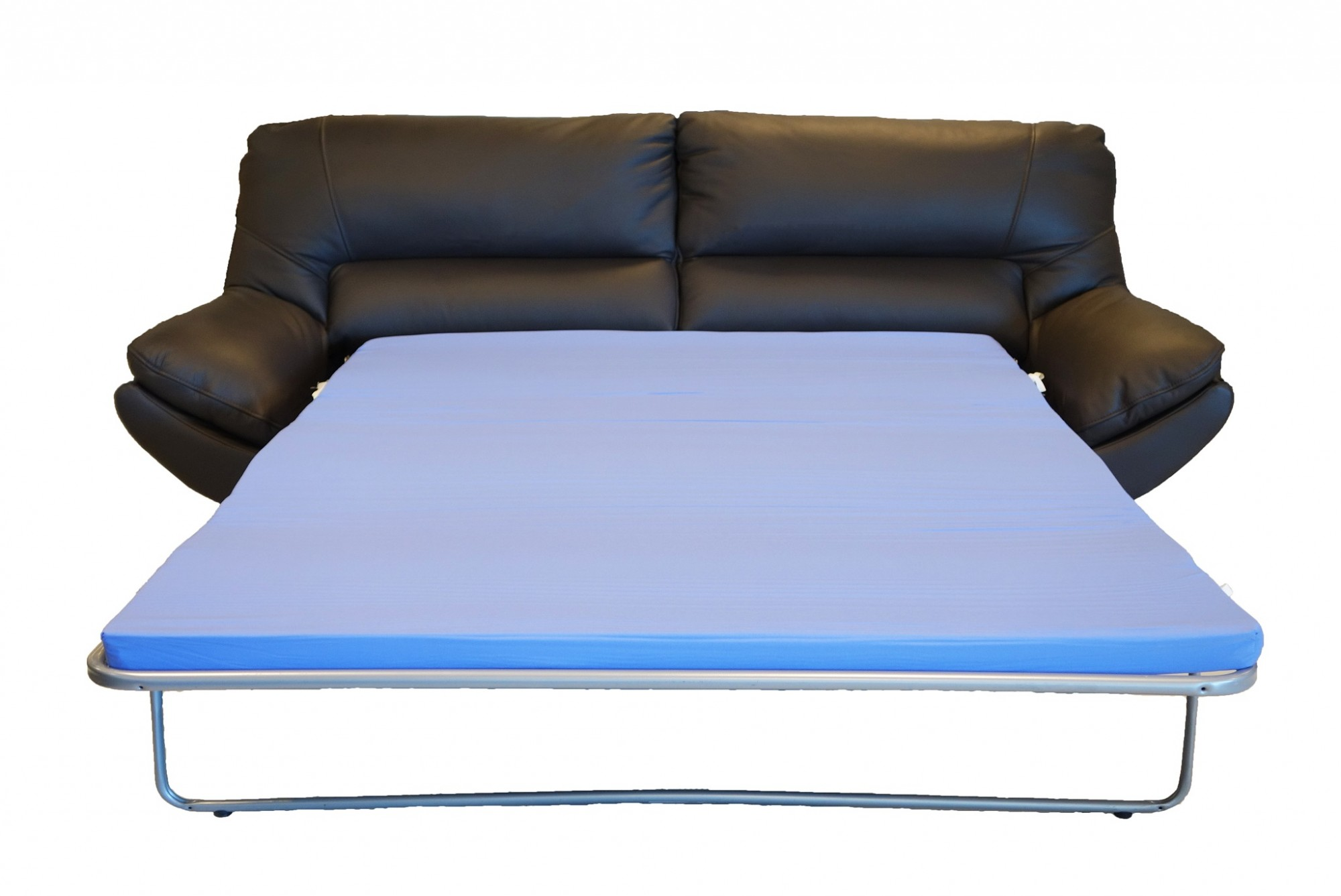 3 seater sofa beds tiendas de sofas madrid sur silica seat bed luxury leather modern glossyhome