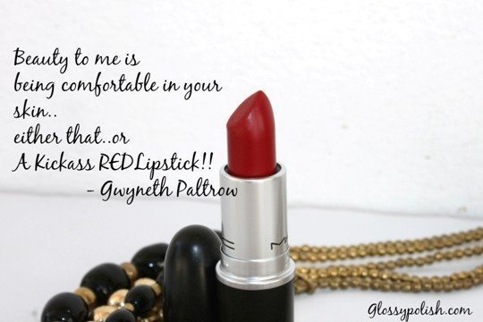 Mac Russian Red Lipstick Review main image