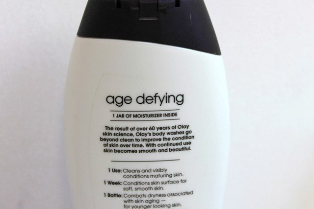 Olay Age Defying Body Wash Review (4)