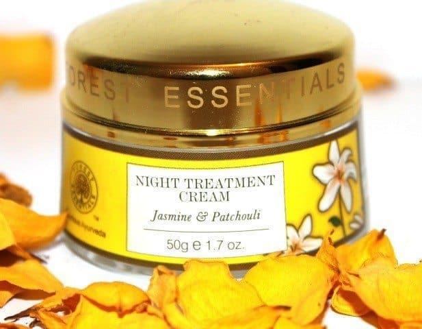 Forest Essentials Night Treatment Cream Jasmine & Patchouli Review 2
