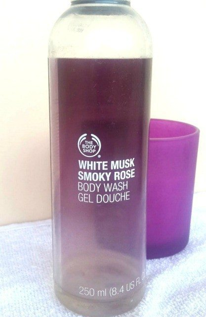 he Body Shop White Musk Smoky Rose Body Wash Review 2