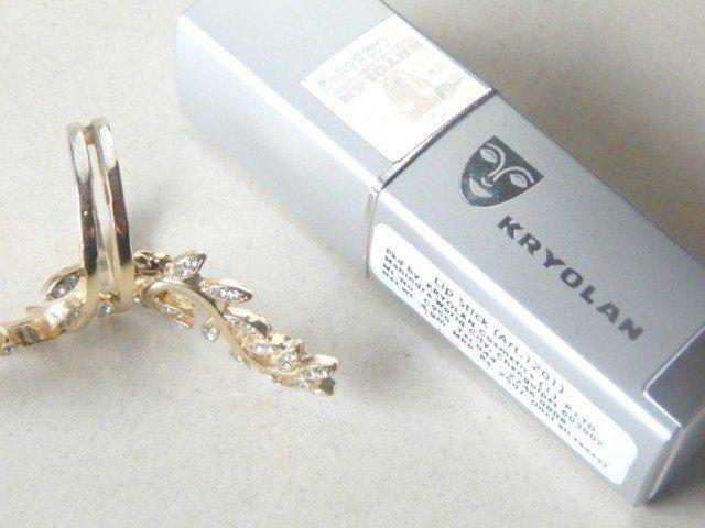 Kryolan Lipstick Fashion 403 Review 4