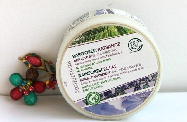 The Body Shop Rainforest Radiance Hair Butter for Colored Hair 5