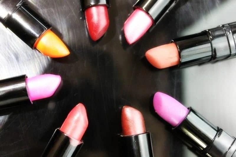 Inglot Lipstick swatches 28
