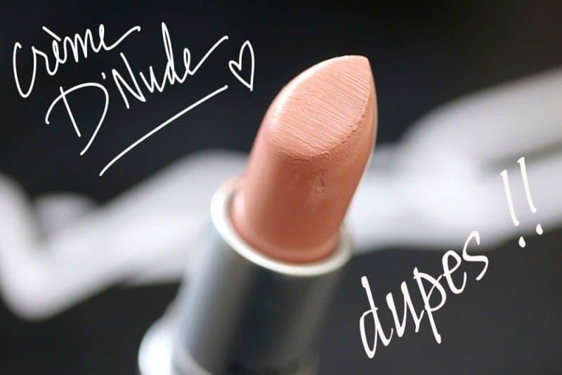 MAC Crème d' Nude Dupes