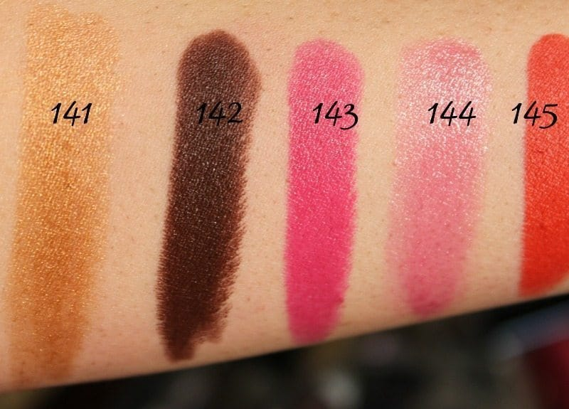 MAC Lipstick Swatches 37