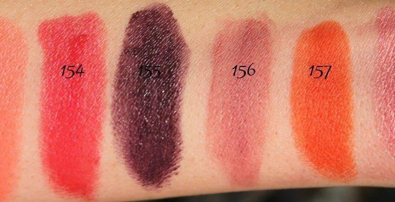 MAC Lipstick Swatches 41