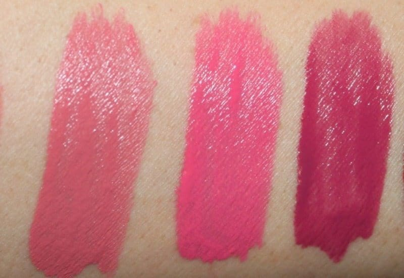 colorbar kiss proof lipstick swatches 1