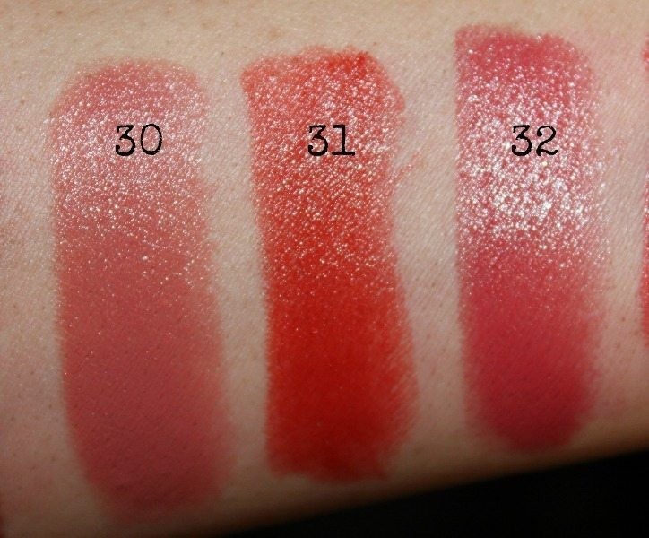 colorbar lipstick swatches 12