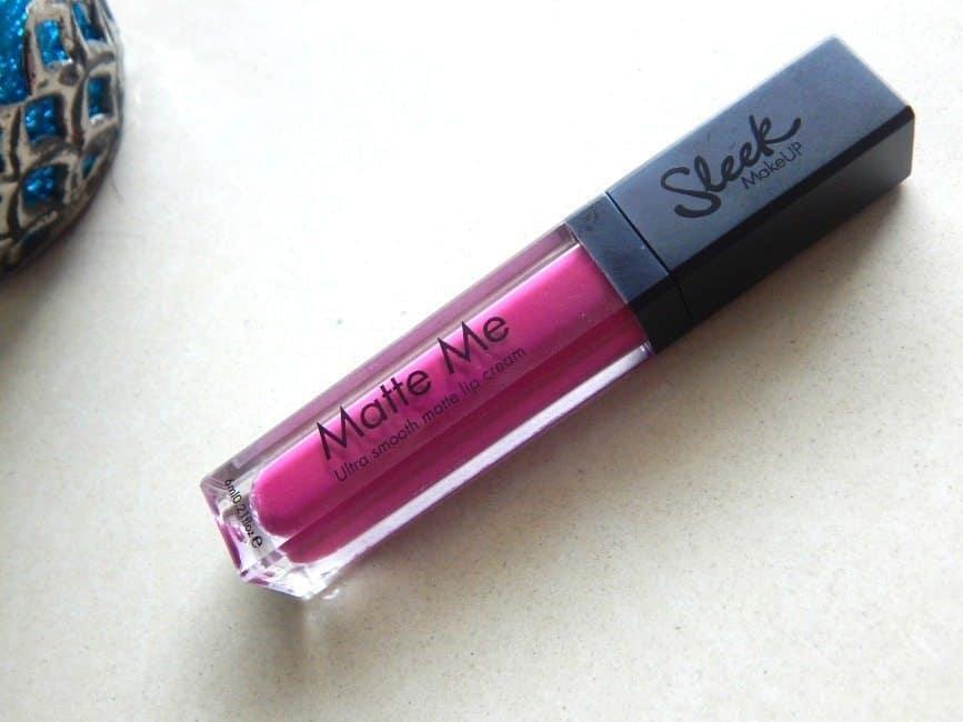 Sleek Makeup Matte Me Fandango Purple Review 2