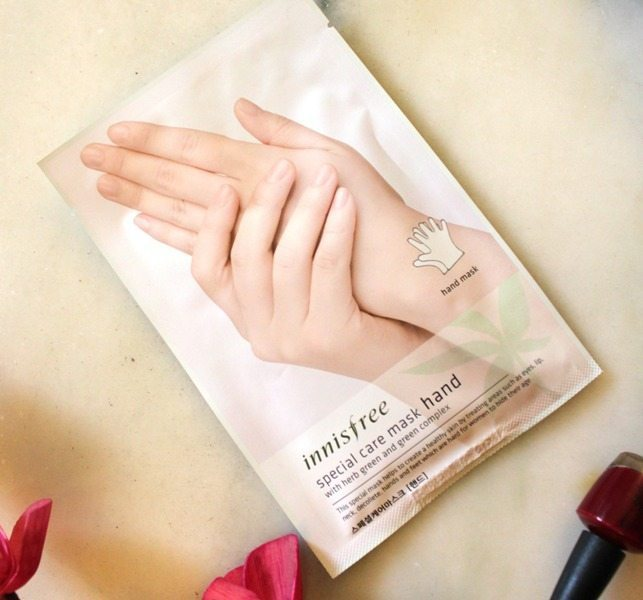 Innisfree Special Care Hand Mask Review