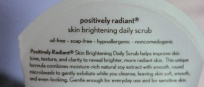 Aveeno Positively Radiant Skin Brightening Daily Scrub 2