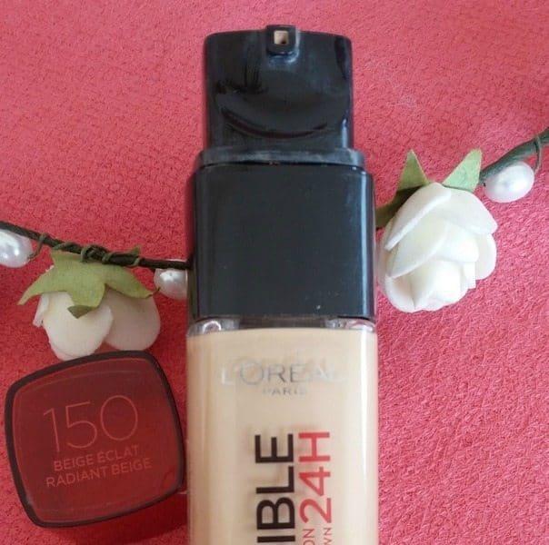 L'Oréal Paris Infallible 24 H Stay Fresh Foundation Review 1