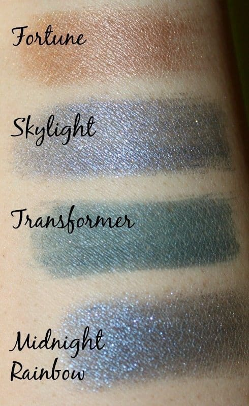 Makeup Revolution Fortune Favors The Brave Eyeshadow Palette 1