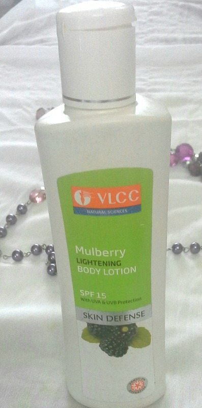 VLCC Skin Defense Mulberry Lightening Body Lotion with SPF 15 Review