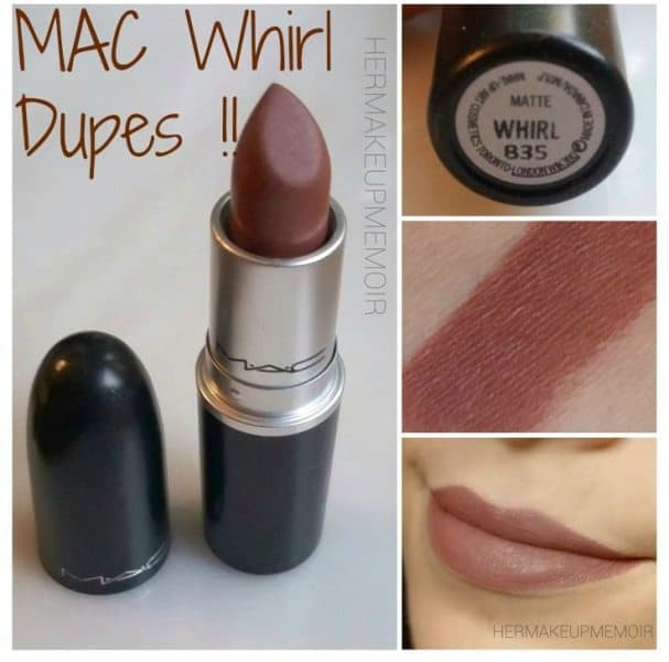 MAC Whirl Dupes 2