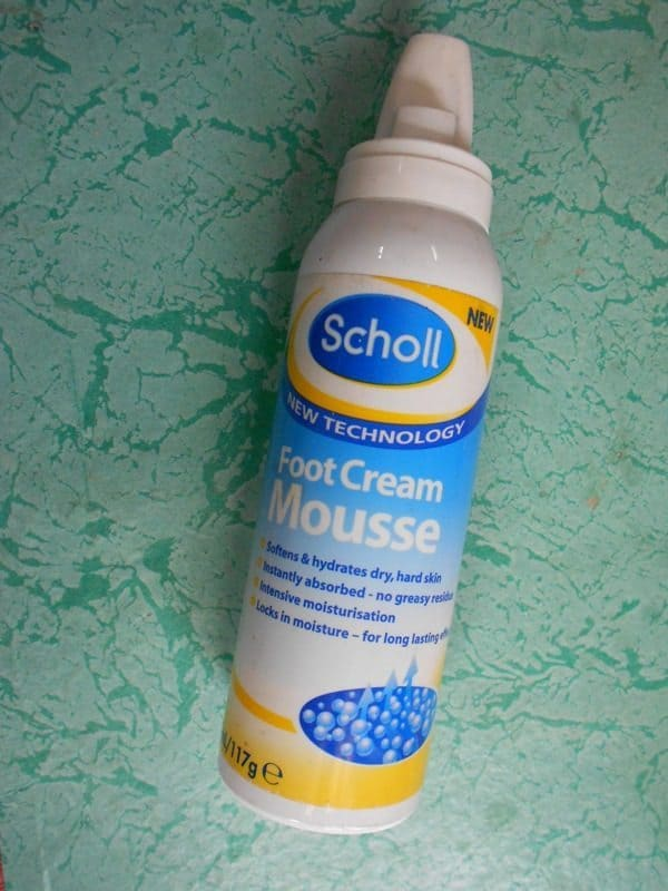 Scholl Foot Cream Mousse Review