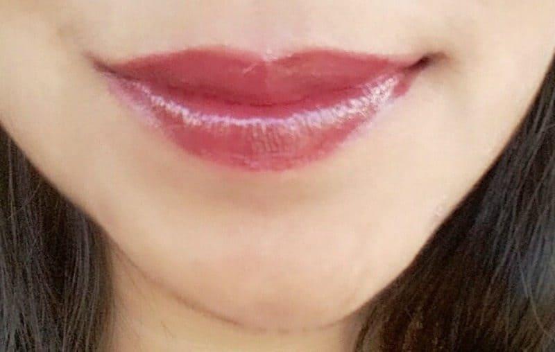 Lakme Lip Love Lipstick Wine Whisper Review 4