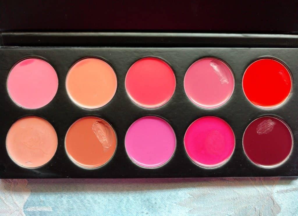 Karity 10 Creamy Lip Palette Review 3