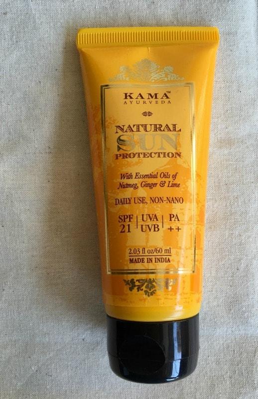 All Natural Sunscreen Kama Ayurveda Natural Sun Protection 2