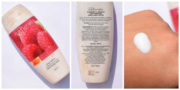 Avon Body lotion Juicy Moisture Raspberry and Hibiscus
