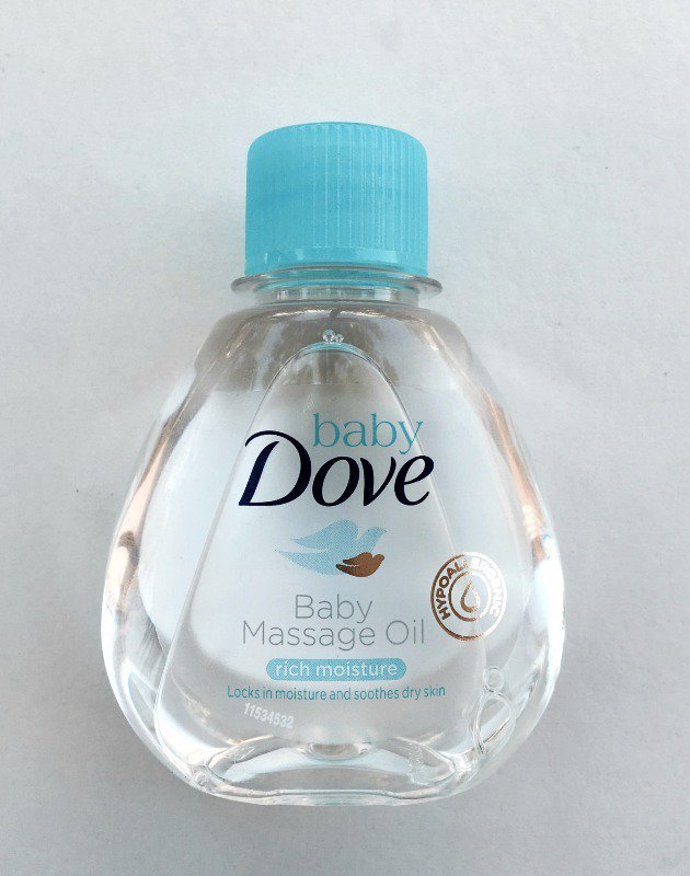 Baby Dove Rich Moisture Baby Massage Oil Review