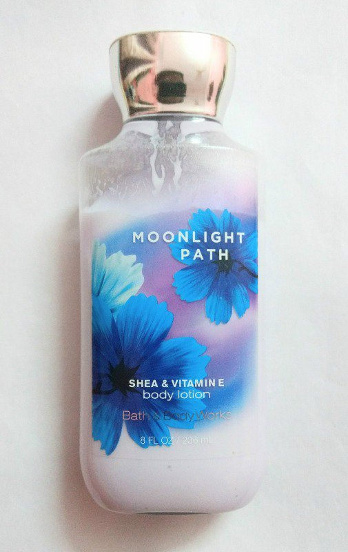 Bath And Body Works Moonlight Path Shea Butter Vitamin E Body Lotion