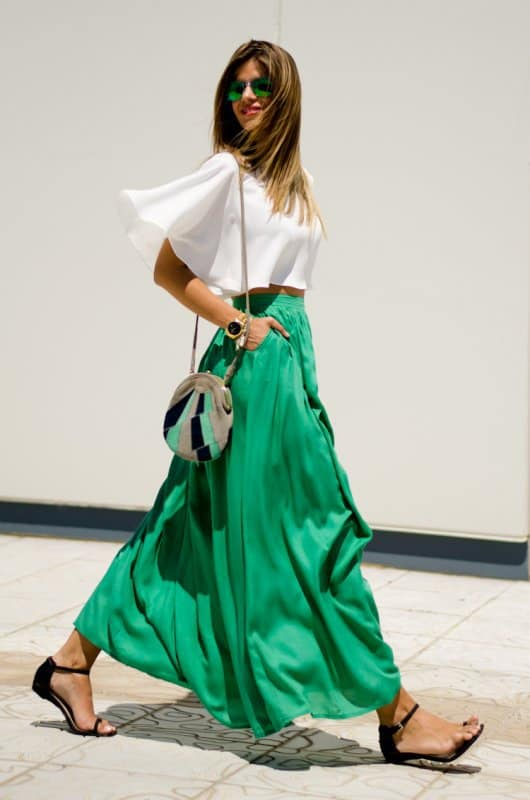 Best Shoes to Wear with Maxi Dress 5