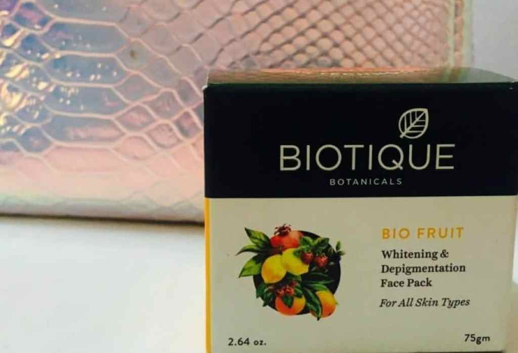 Biotique Bio Fruit Whitening and Depigmentation Face Pack Review 1