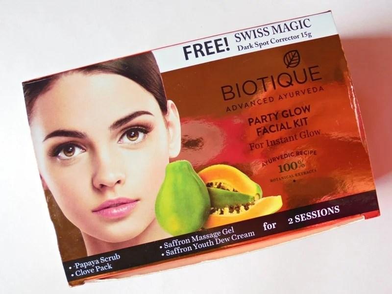 Biotique Facial Kit Party Glow