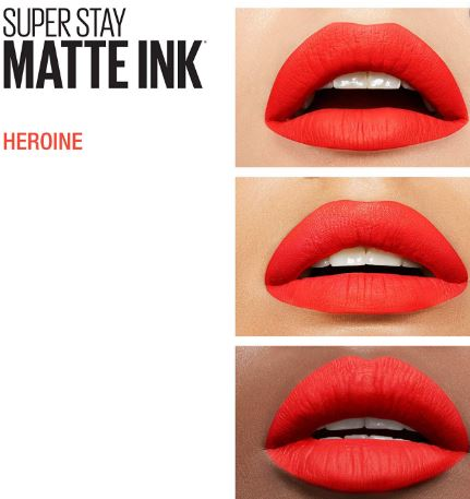 # Maybelline New York Super Stay Matte Ink Liquid Lipstick Heroine