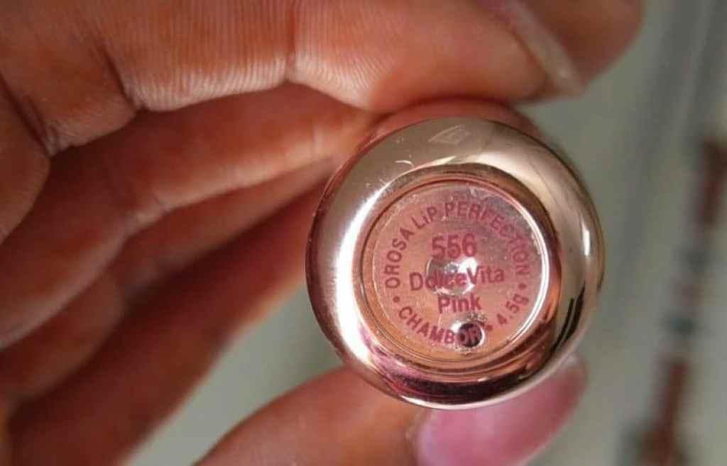 Chambor Orosa Lip Perfection Dolce Vita Pink Review 2