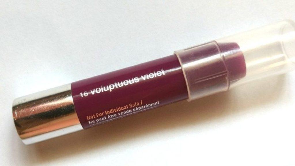 Clinique Chubby Stick Voluptuous Violet Moisturizing Lip Colour Balm Review