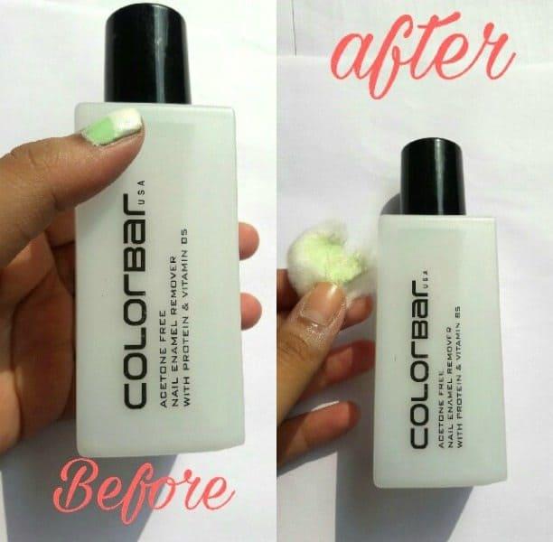 ColorBar Acetone Free Nail Enamel Remover 1