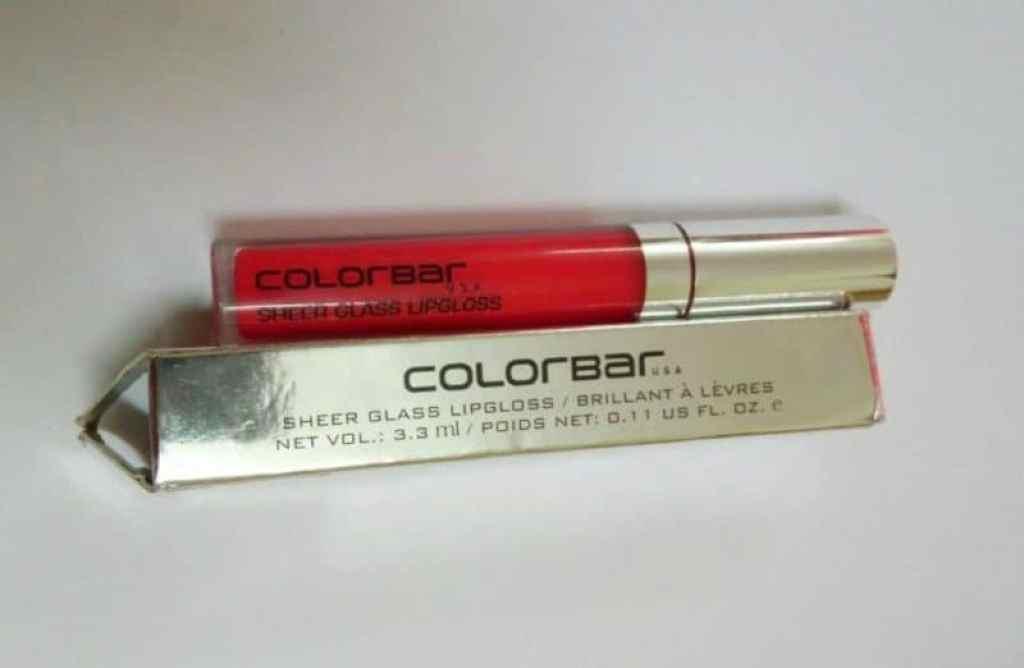 Colorbar Sheer Glass Lip-gloss Red  1