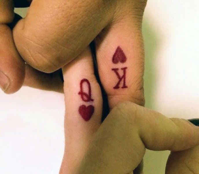 Mad Love Joker And Harley Quinn Couple Tattoos