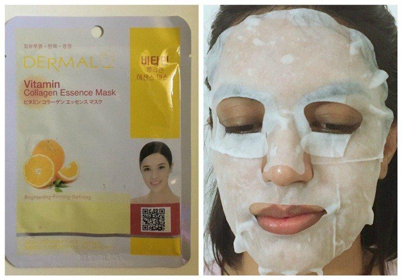 Dermal Vitamin Collagen Essence Mask