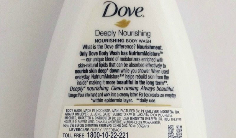 Dove Deeply Nourishing Body Wash  1