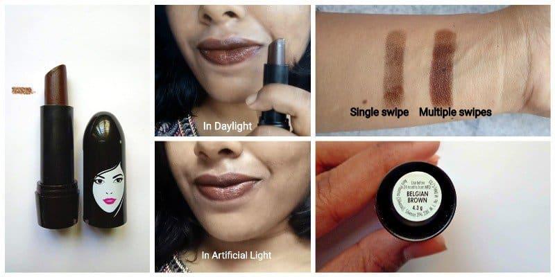 Elle 18 Belgian Brown Lipstick