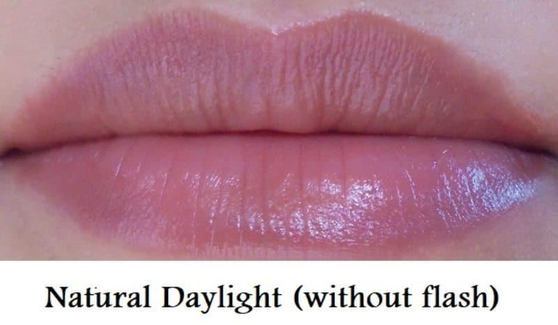 Elle 18 Color Pops 30 Cinnamon Bun Lipstick Review 5