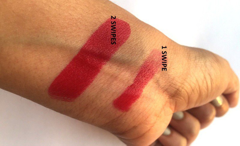 Elle 18 Lipstick Red Wave 2