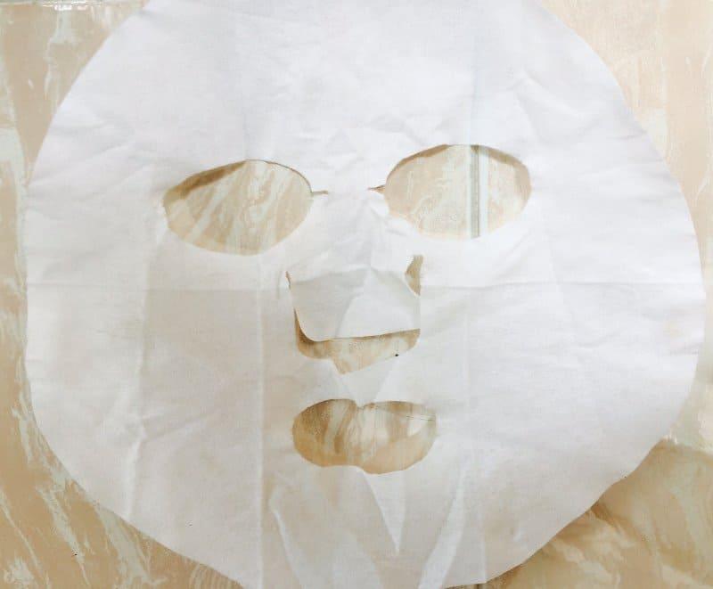 Face Shop Longan Face Mask 1