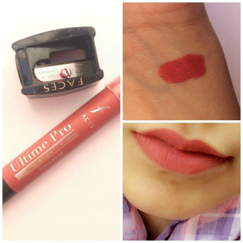 Faces Ultimate Pro Matte Lip Crayon Peach Me 08 4
