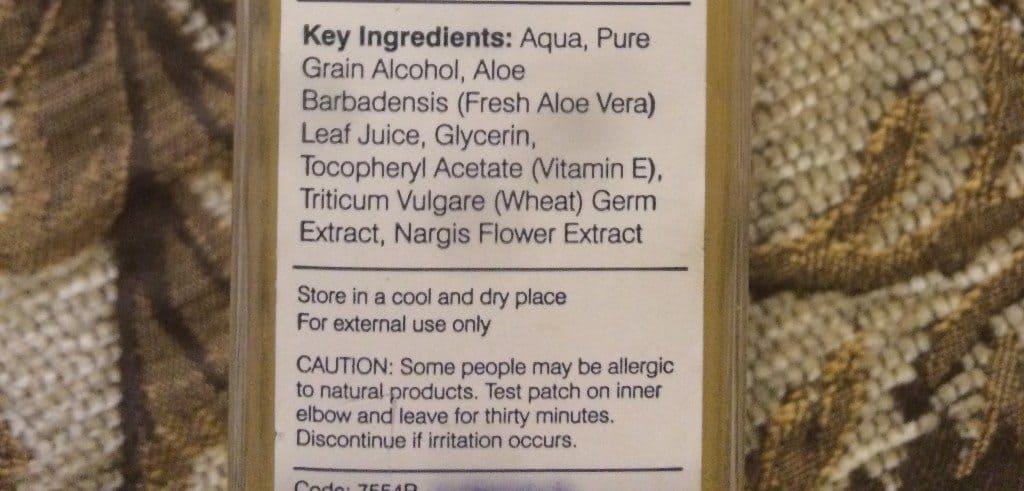 Forest Essentials Body Mist Nargis Review 3