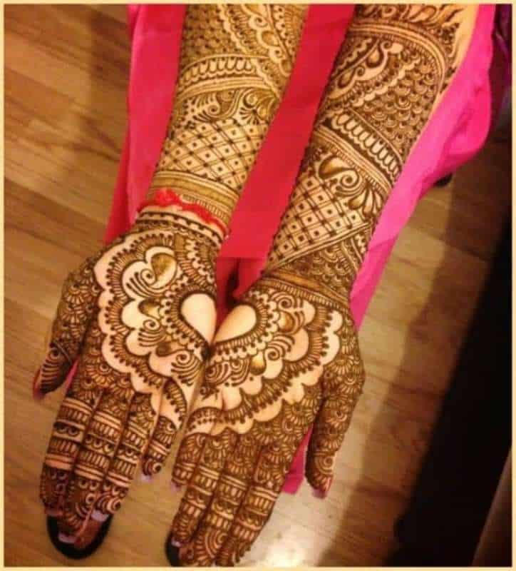 Henna Designs – Choose your Love Mehendi Design with Hearts