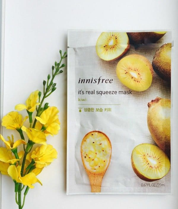 Innisfree Kiwi It's Real Squeeze Mask