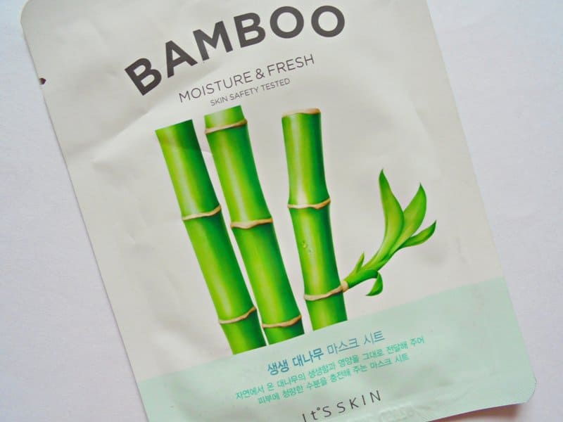 It's Skin The Fresh Mask Sheet Bamboo Moisture & Fresh Review 1