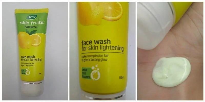 Joy Skin Fruits Fairness Face Wash For Skin Lightening