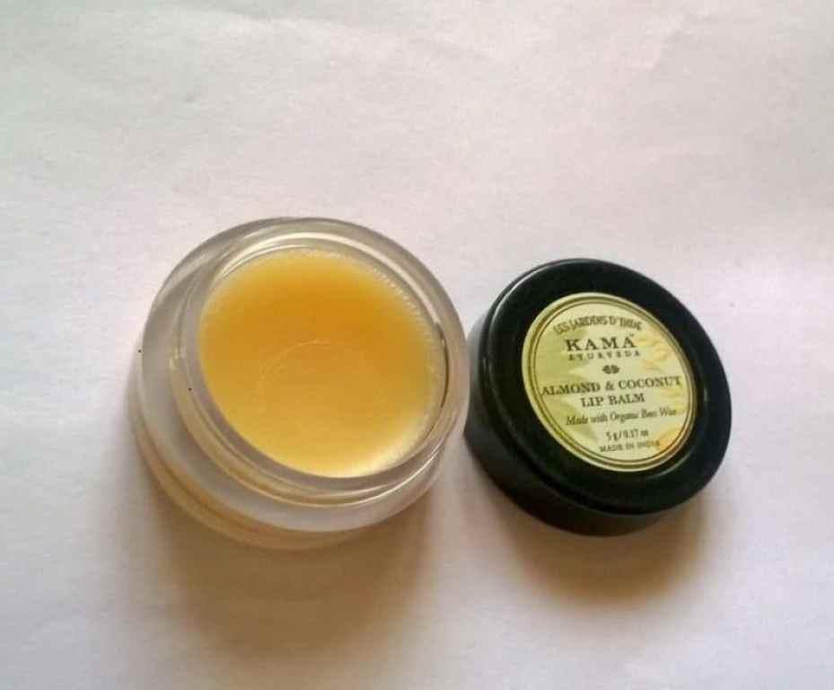 Kama Ayurveda Almond And Coconut Lip Balm Review 6